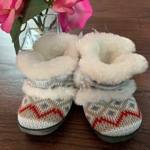 Koala Baby fur lined baby shoes 12-18mos